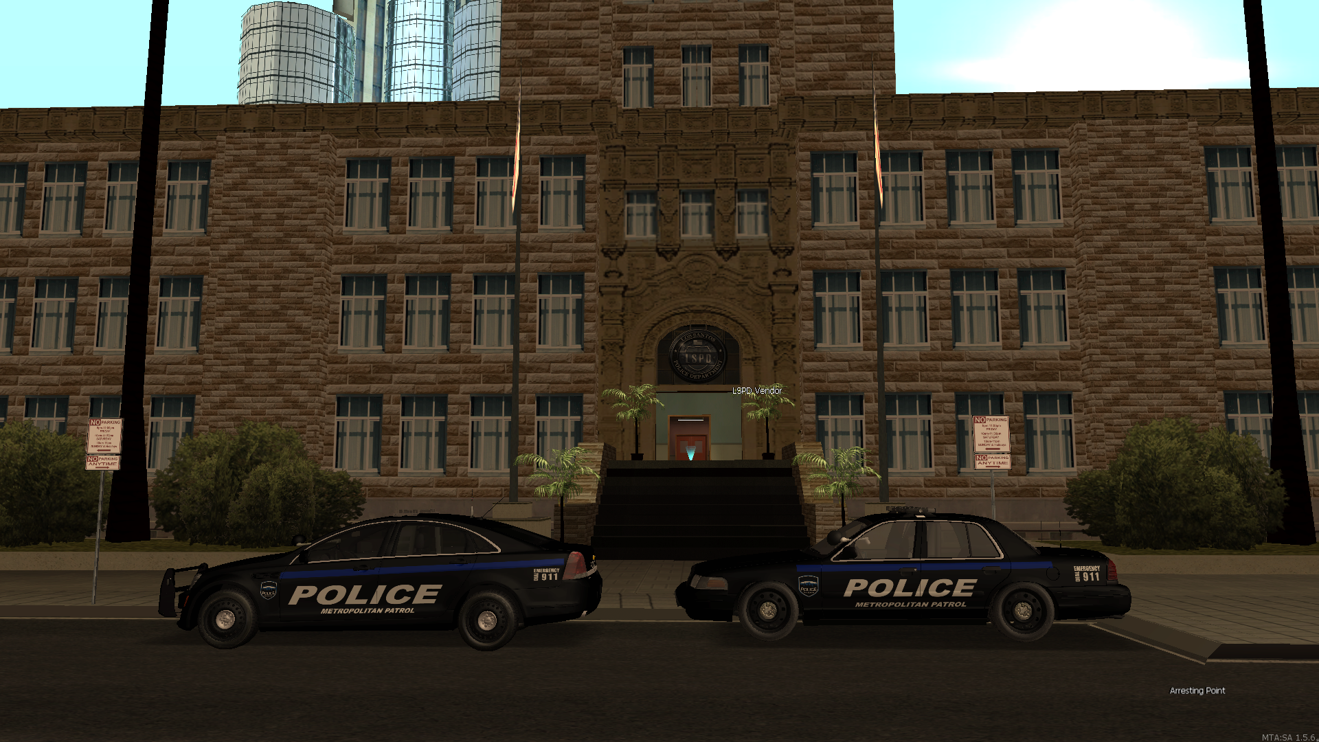 Pershing Square Police Station - posted by Chico2