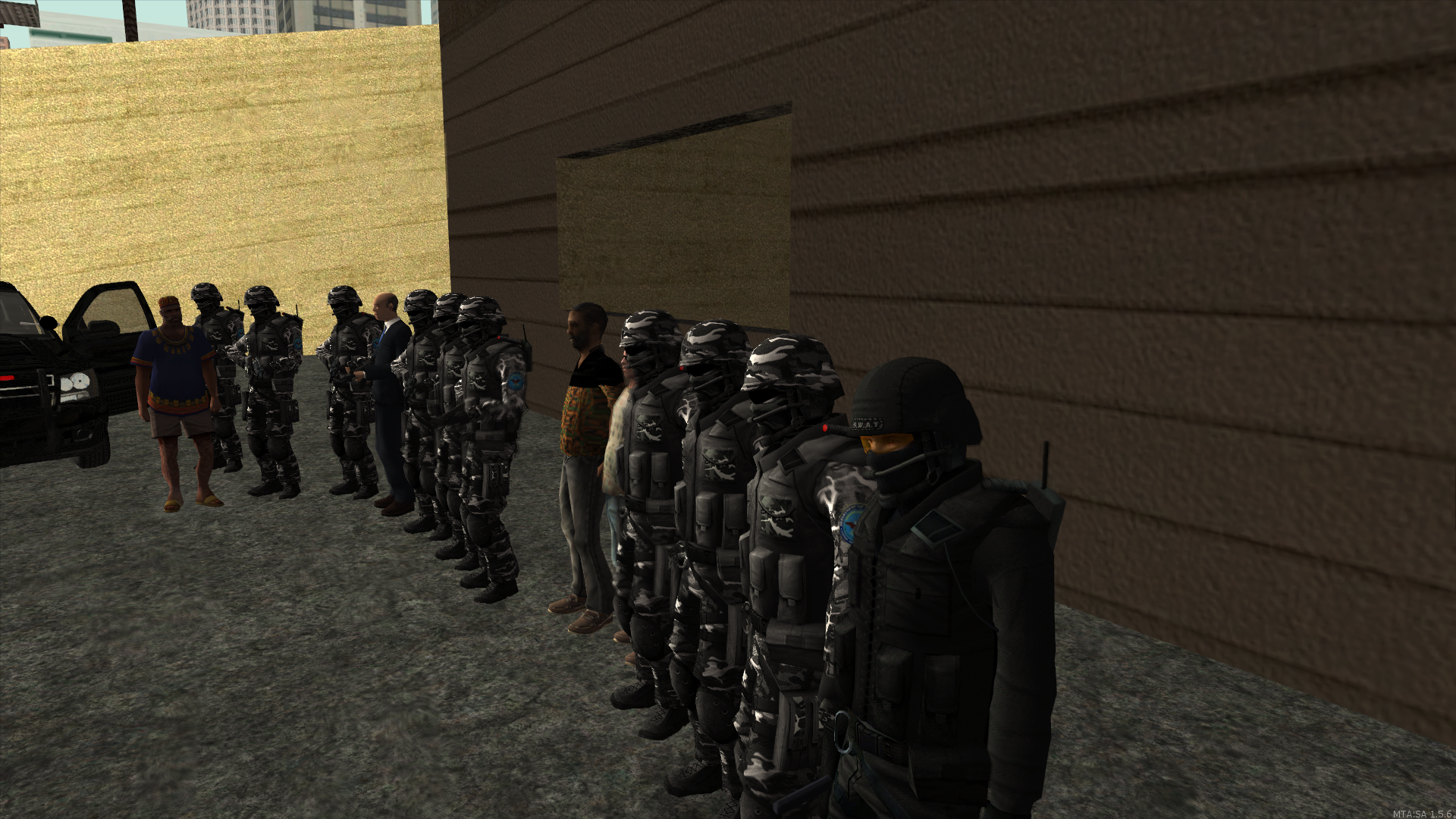 SWAT Team ready for the mission - posted by MaXKillS