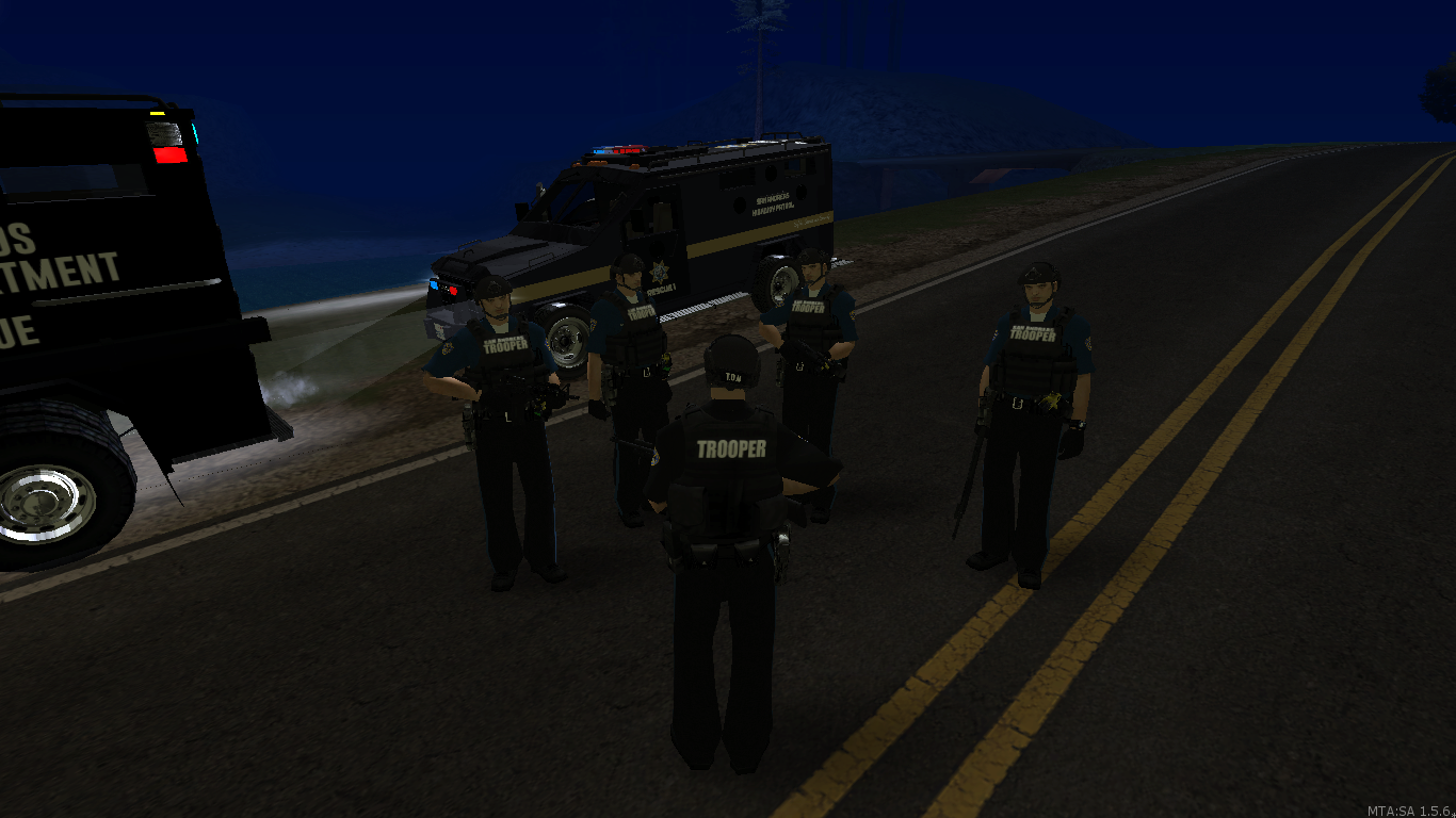 SAHP troopers Tactical operation unit. - posted by WolfSchultz