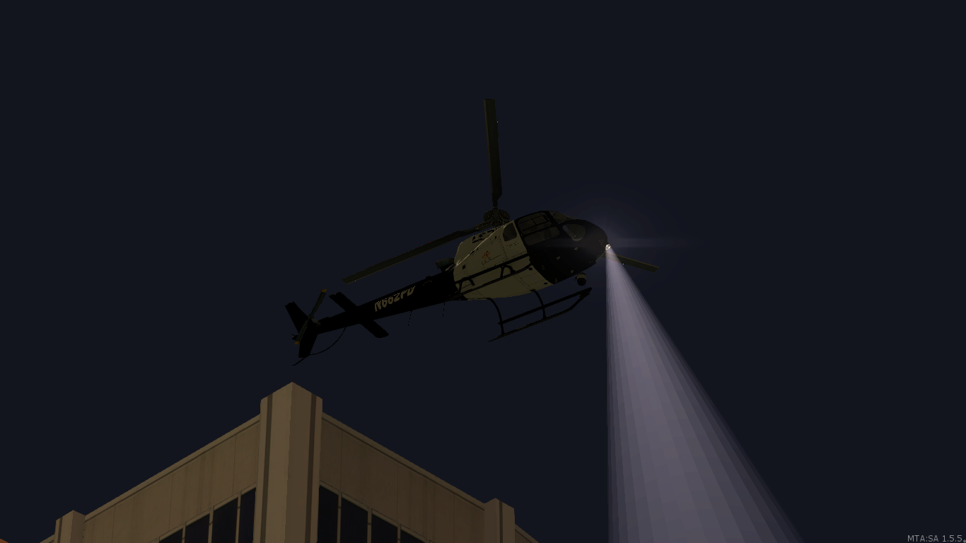 LSPD helicopter - posted by Ian Rezende