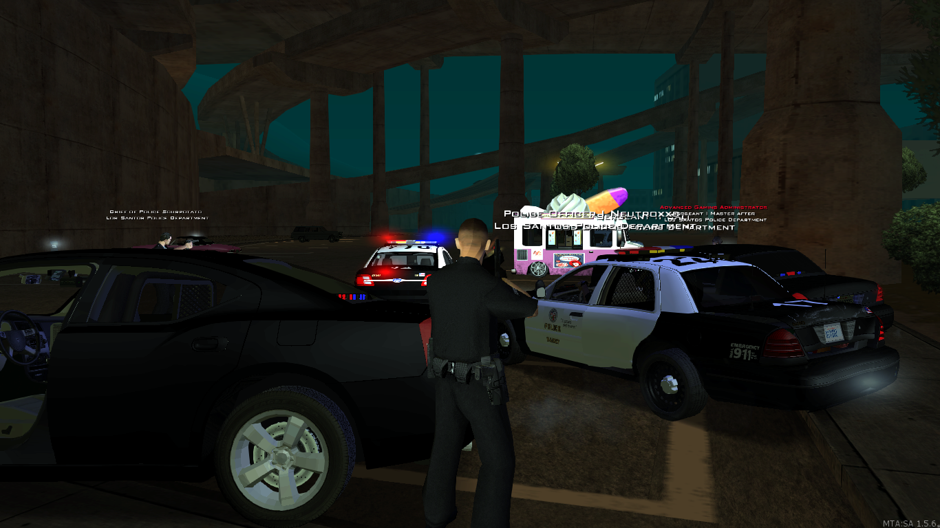 Just doing L.A.P.D work - posted by Officer.Ian