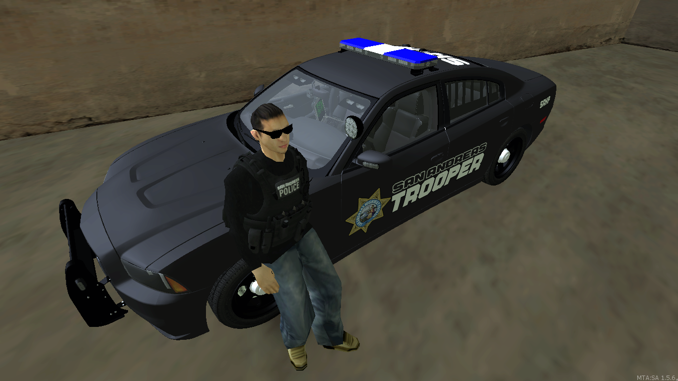 State Trooper in his undercover set. - posted by WolfSchultz