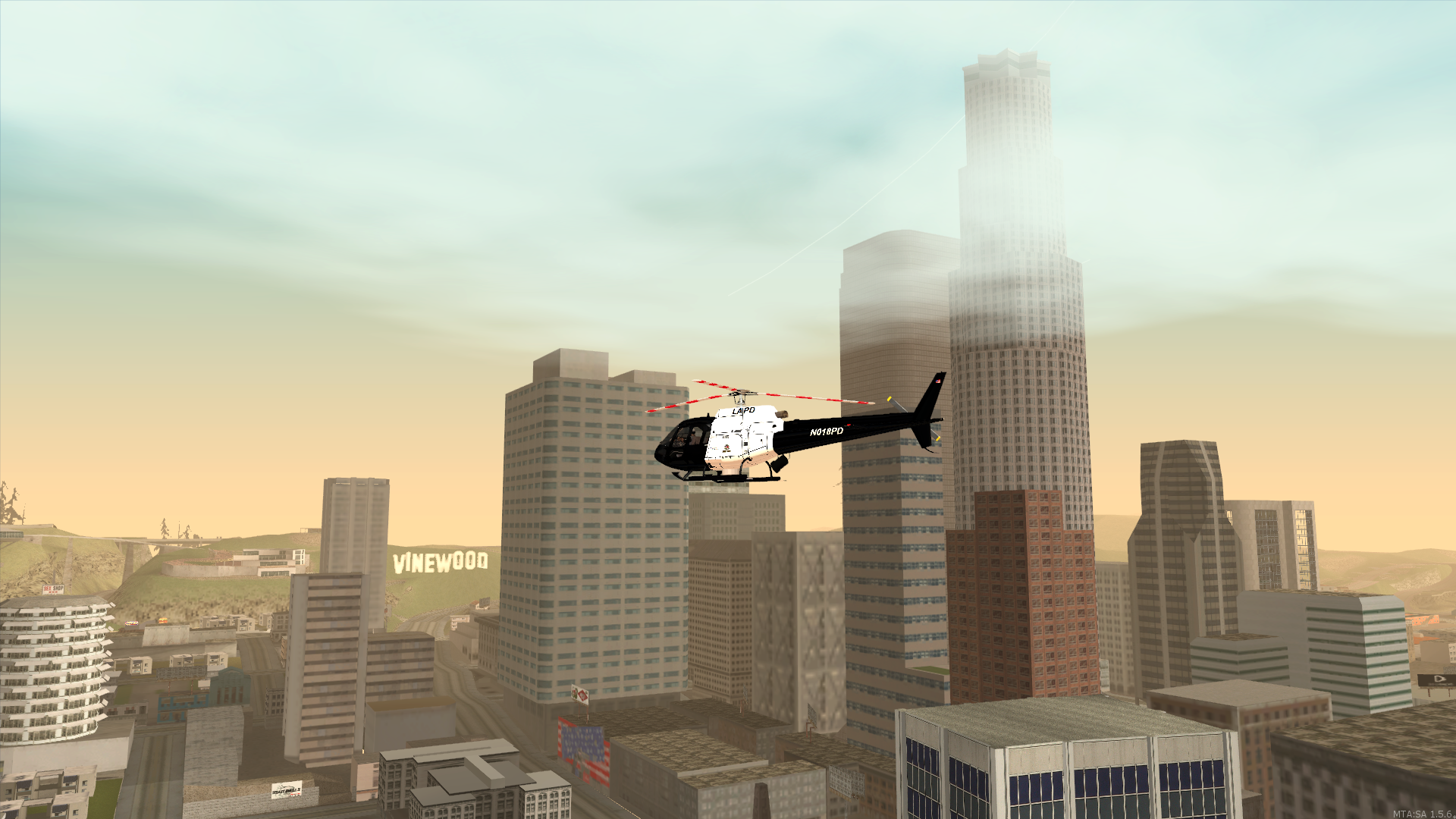 Los Santos Police Department Air Support Division - posted by MaXKillS