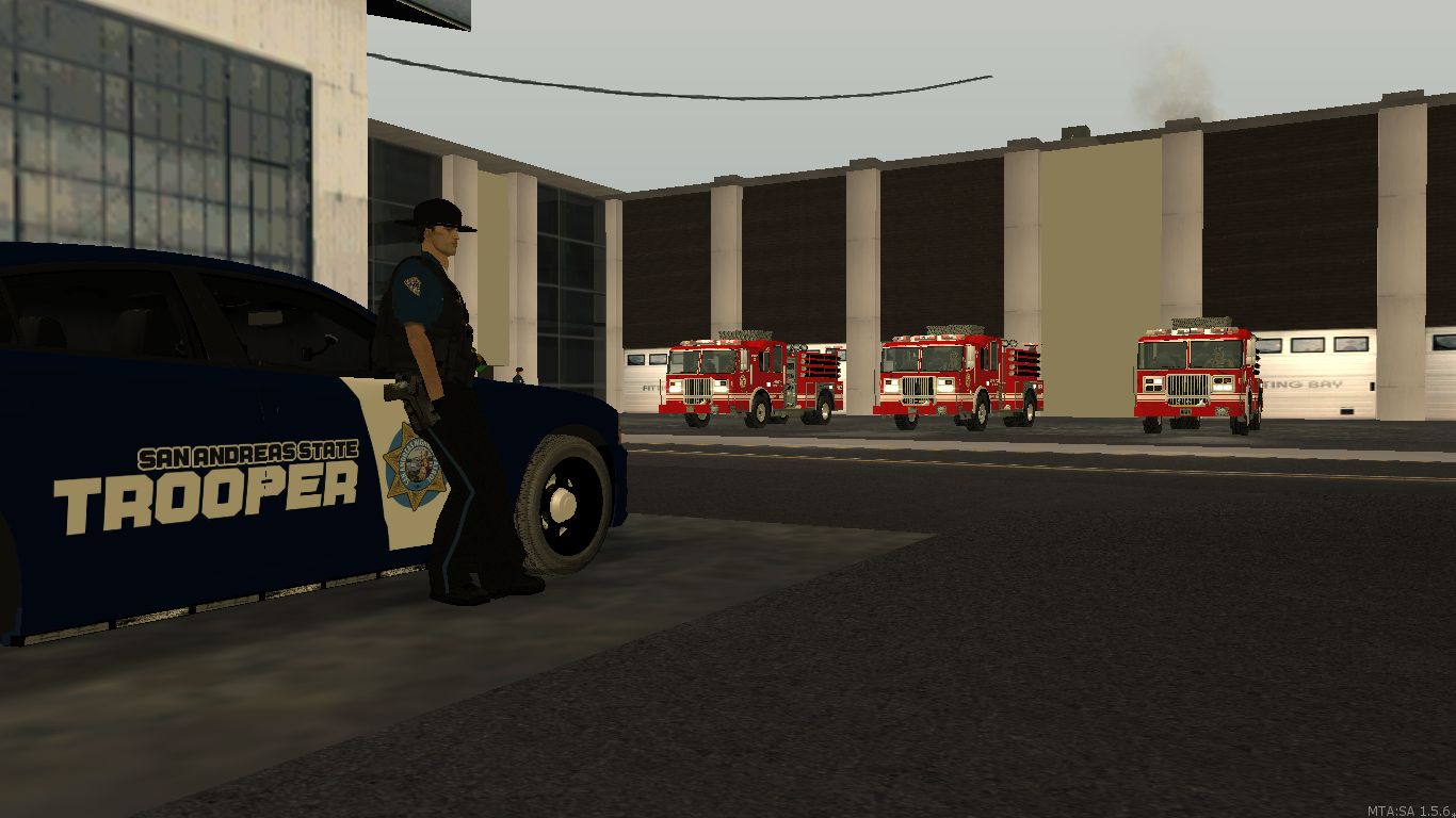 Making sure LSFD Station 1 is safe - posted by WolfSchultz