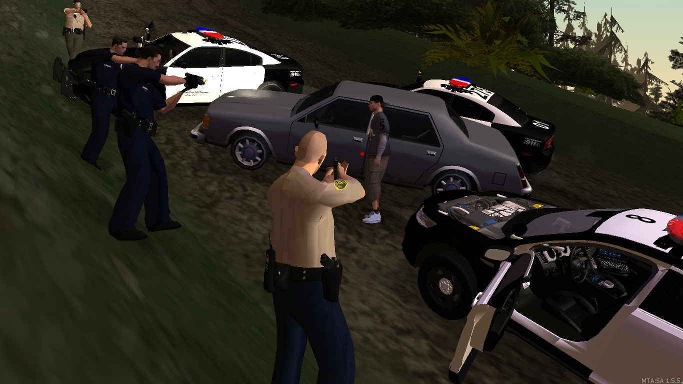 San Andreas Sheriff's office - posted by WolfSchultz