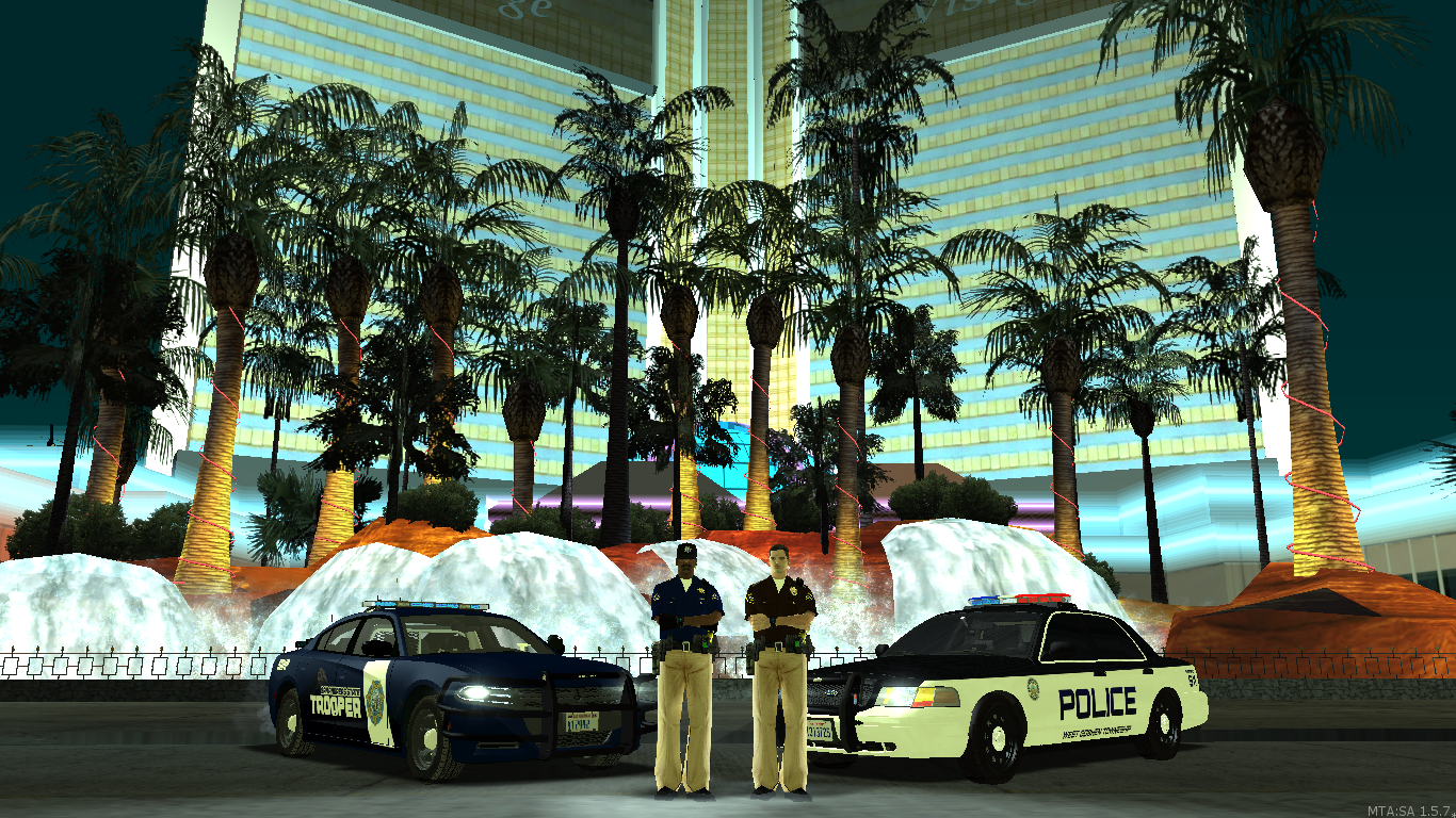 Highway Patrol and Metro Police working together - posted by WolfSchultz