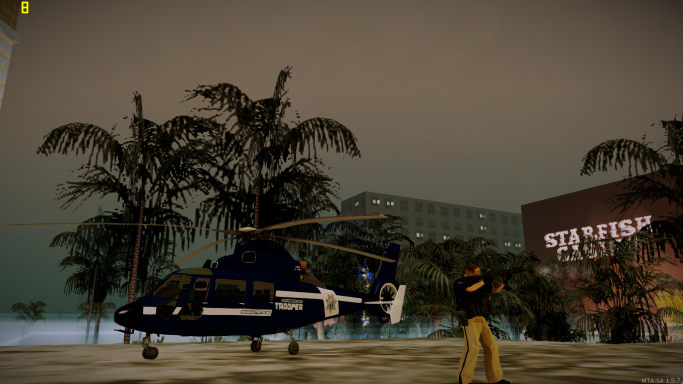 Highway patrol AIR one over watch - posted by WolfSchultz