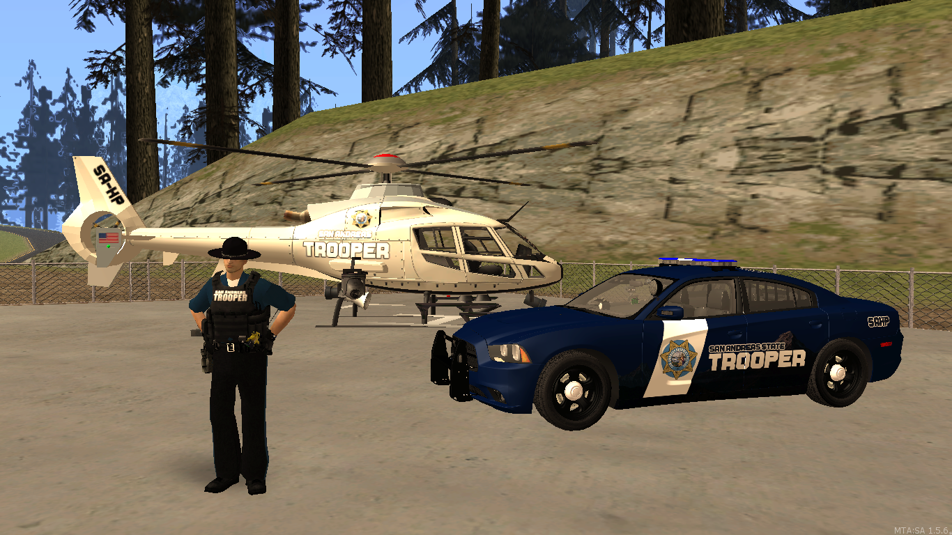 San Andreas Highway patrol fleet. - posted by WolfSchultz