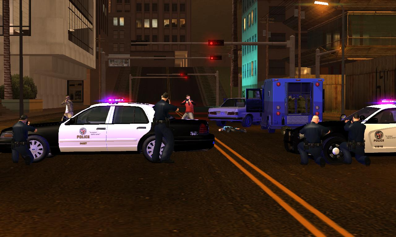 Armored Truck Robbery call-out recreation - posted by Caracatus1
