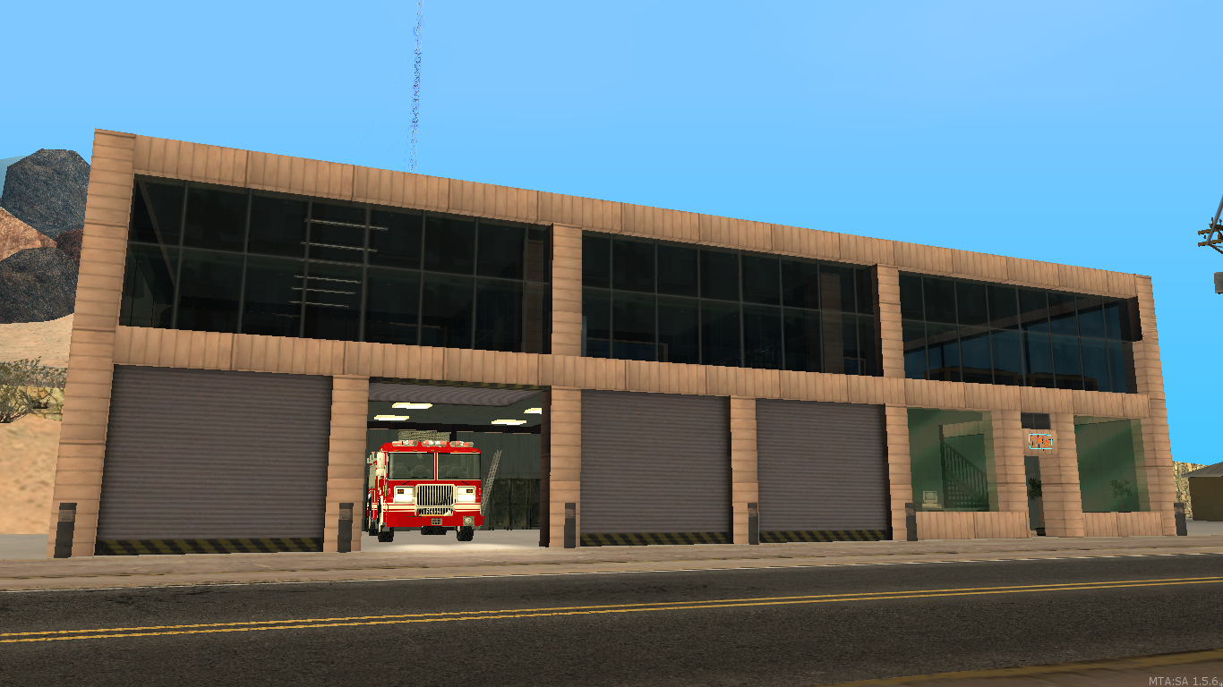 Fire Station 6 Bone County - posted by WolfSchultz