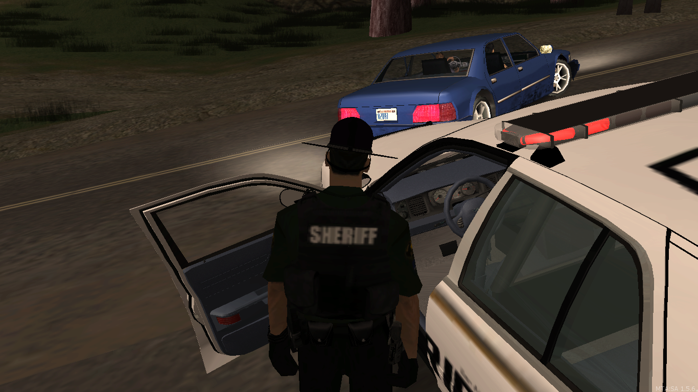 Traffic stop - posted by TheBroCaveYT